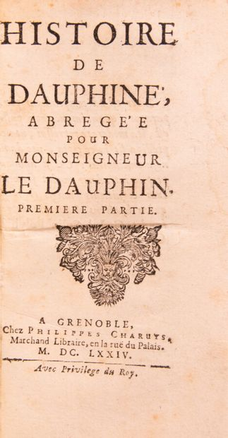 Alpes Savoie Dauphiné - CHORIER (Nicolas)....