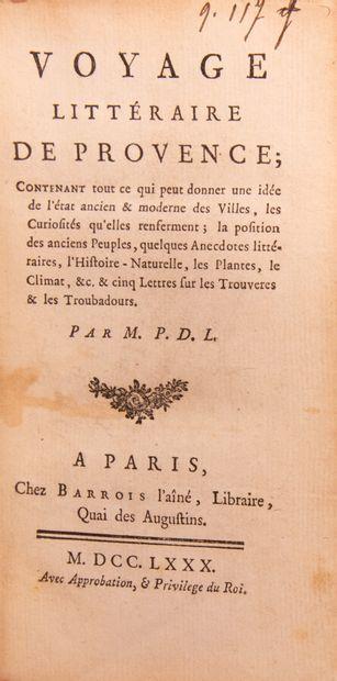 Provence - Midi - [PAPON (J.P.)]. Voyage...