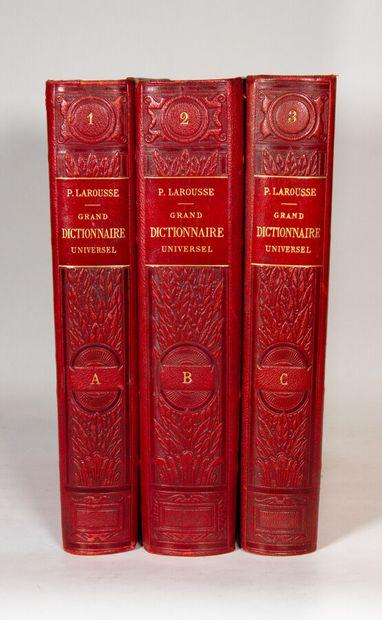 LAROUSSE (Pierre). Grand dictionnaire universel...