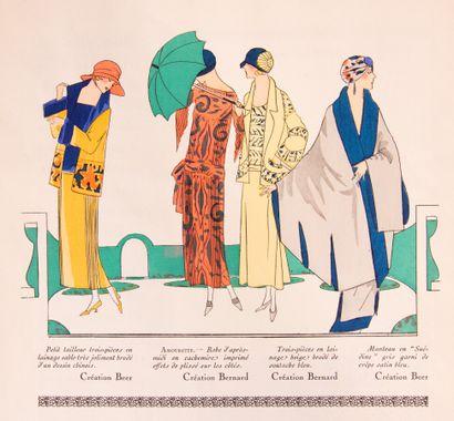 ART - TASTE - BEAUTY (BON-TON). Feuillets de l'élégance féminine. Paris, 1921-1929....