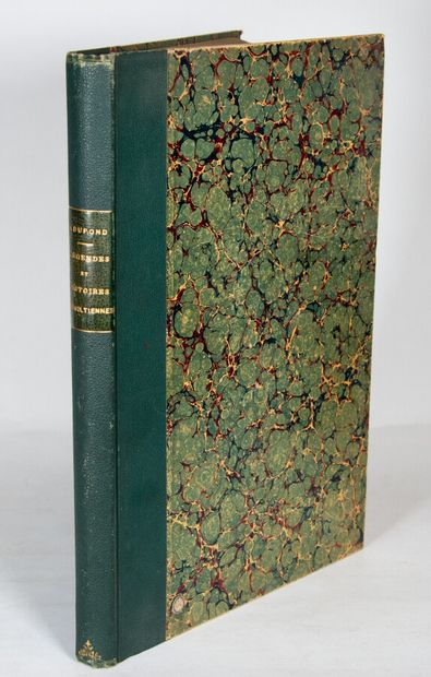 Ain - DUPOND (J). Legends and stories of Trevoltians. Trévoux, Jeannin, 1901. In-4°,...