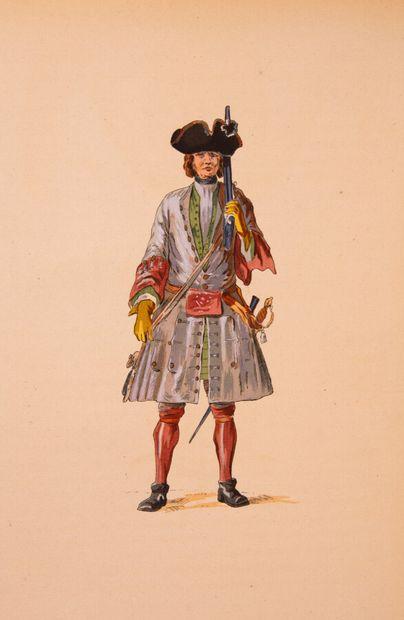Lyonnais - SADI CARNOT. Le régiment de Lyonnais....