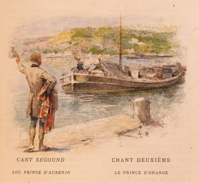MISTRAL (Frédéric). Le Poème du Rhône en...