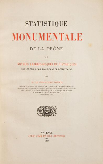 Provence - Midi - JOUVE (Chanoine). Statistique...