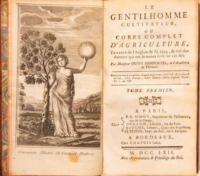 DUPUY DEMPORTES. Le Gentilhomme cultivateur...