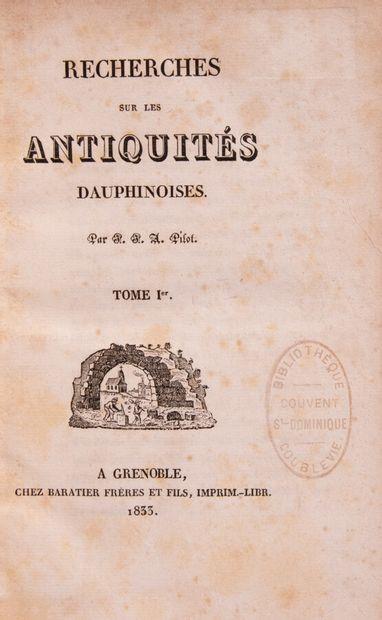 Alpes Savoie Dauphiné - PILOT (Jean Joseph...