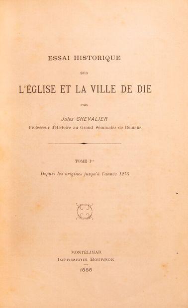 Provence - Midi - CHEVALIER (Jules). Essai...