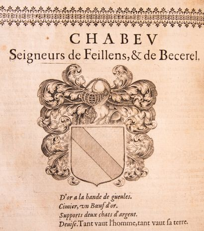 Ain - GUICHENON (S). History of Bresse and Bugey. Containing the most memorable...