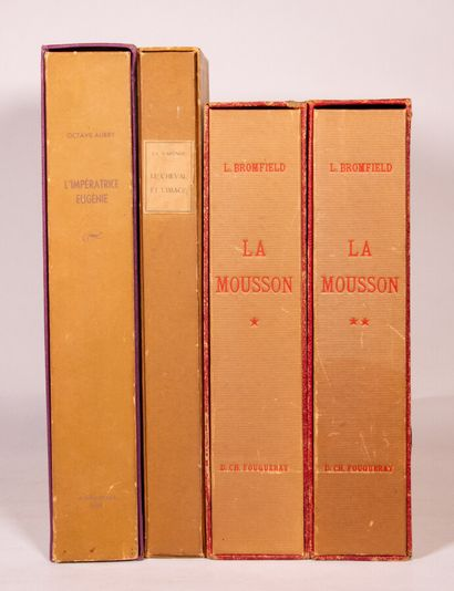 BROMFIELD (L.). La mousson. P., Les Heures...