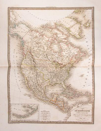LAPIE. Atlas universel de géographie ancienne...