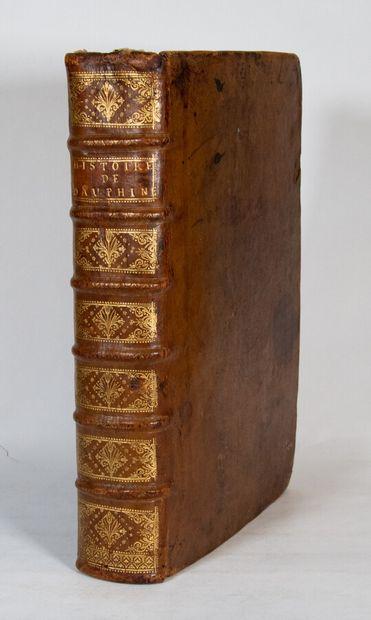 Alpes Savoie Dauphiné - [VALBONNAIS (Marquis de)]. History of Dauphiné and of the...