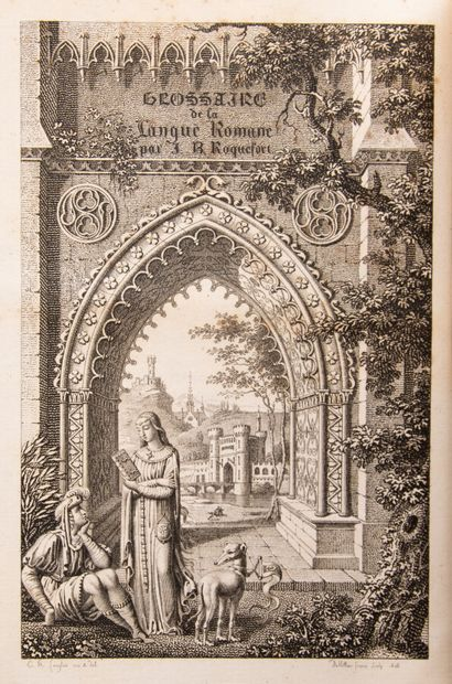 ROQUEFORT (J.B.B.). Glossaire de la langue...