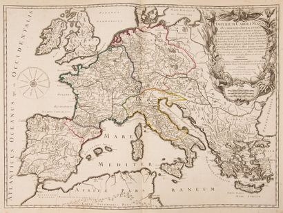 VAUGONDY (R. de). Atlas of study for the instruction of the youth composed of 35...