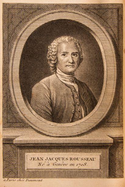 ROUSSEAU (Jean Jacques). Collection complète des oeuvres.  Geneva, unnamed, 1782-89....