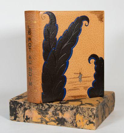 CHADOURNE (Louis). Le Pot au Noir. Scenes and figures of the tropics. Engraved wood...