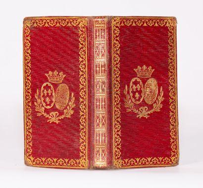 CALENDRIER DE LA COUR pour l'année 1827 imprimé...