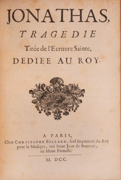 DUCHE DE VANCY (Jos. Fr.). Absalon. Tragédie...