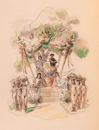 LOUYS (Pierre). Les Aventures du Roi Pausole....