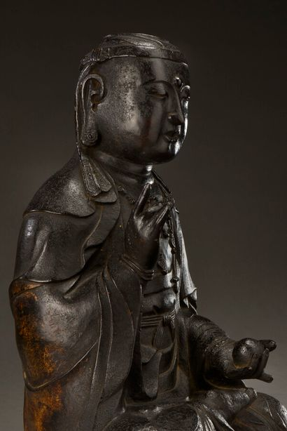 """CHINA - Period of the SONG Dynasty (960-1279)  Exceptional Guanyin, known as """"Bodhisattva..."""