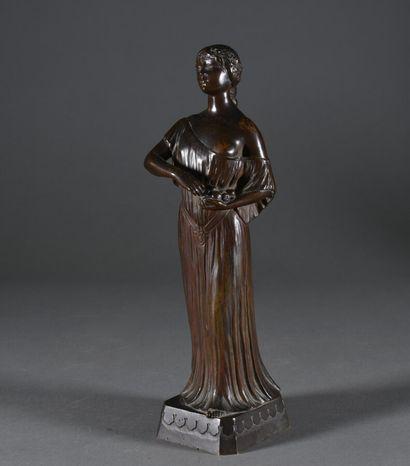 Joé DESCOMPS (1859-1950)  L'élégante cueillette...