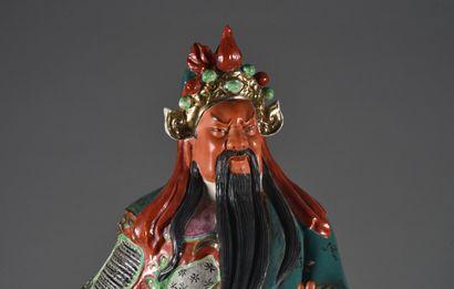 CHINE - XXe siècle  Guan Yu, grand sujet...