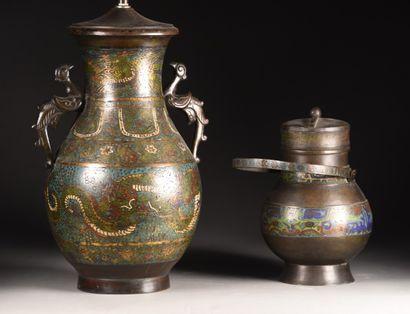 JAPON - Epoque MEIJI (1868-1912)  Pot couvert...