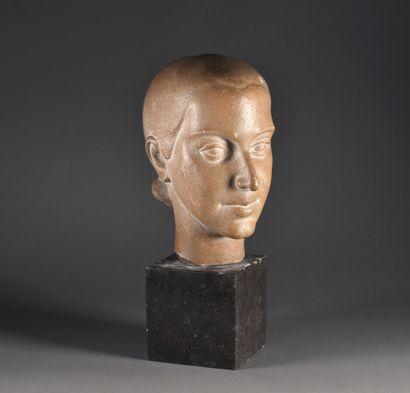 Georges SALENDRE (1890-1985)  Portrait de...