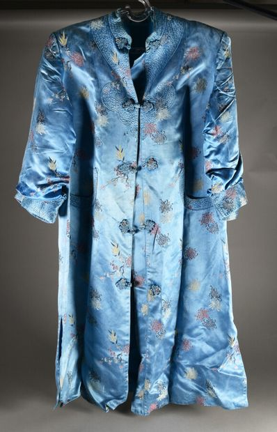ASIE - XXe siècle  Kimono de femme en soie...