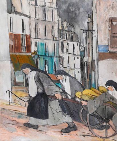 Marcel CHARBONNEL (1901-1981)  Le pain de...