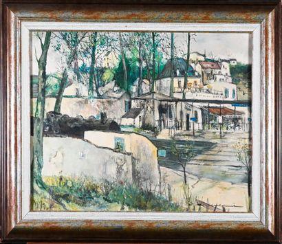 Marcel CHARBONNEL (1901-1981)  La gare de...