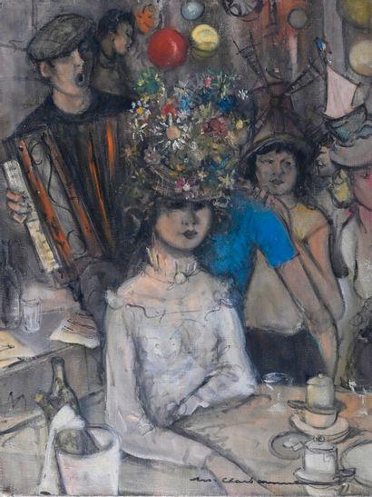 Marcel CHARBONNEL (1901-1981)  Les catherinettes...