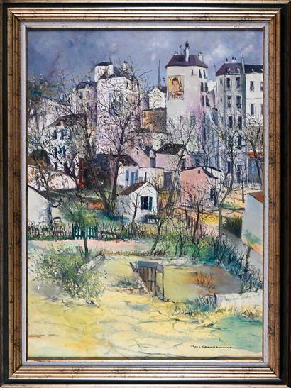 Marcel CHARBONNEL (1901-1981)  Printemps...