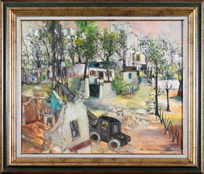 Marcel CHARBONNEL (1901-1981)  Les maisons...