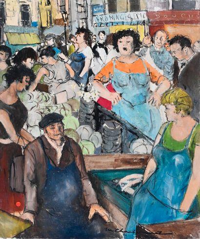 Marcel CHARBONNEL (1901-1981)  Les petites...