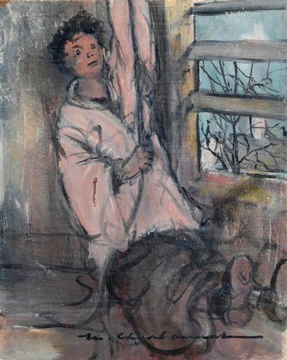 Marcel CHARBONNEL (1901-1981)  L'enfant de...