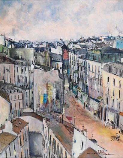 Marcel CHARBONNEL (1901-1981)  Rue Tholozé...