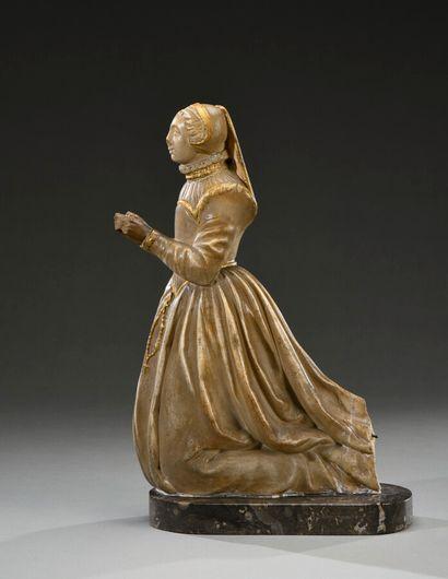 France, milieu du XVIème siècle  Femme de...