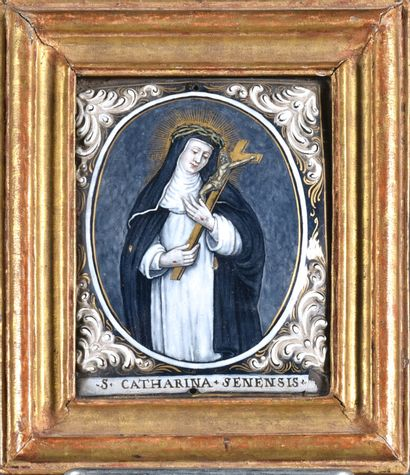 Nicolas LAUDIN (1628-1698)  Sainte Catherine...