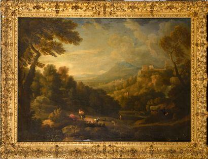 Attribué à Jan Frans van BLOEMEN (1662 -...