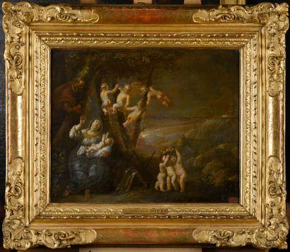 Attribué à Pieter Van AVONT (1600-1632)  Sainte...