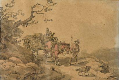 Franz Joseph MANSKIRCH (1768-1830)  Paysans...