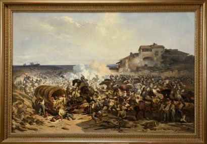 Alexandre DUBUISSON (1805-1870)  La charge...