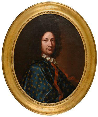 Ecole FRANCAISE vers 1700  Portrait d'homme...