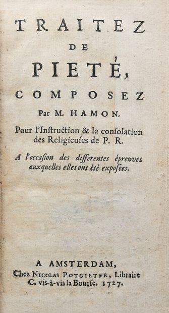 HAMON (Jean). TRAITEZ DE PIETÉ, composez...
