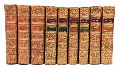 LA VALLIERE (Duc de). Catalogue des livres...