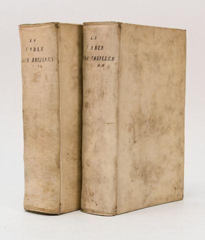 [MANDEVILLE (Bernard de)]. LA FABLE DES ABEILLES,...