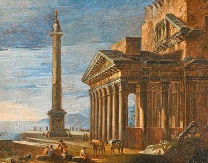 Dans le goût de l'école ITALIENNE du XVIIIe siècle