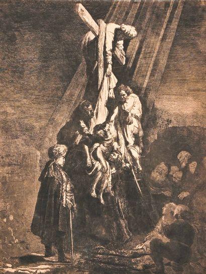 D'après Rembrandt Harmenszoon van Rijn (1606-1669)