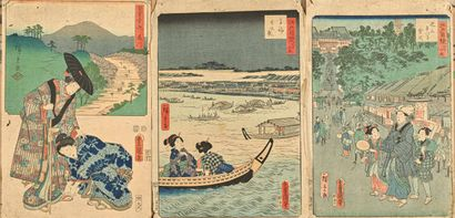 JAPON, Milieu XIXème siècle