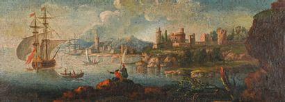 Entourage d'Adrien MANGLARD (1695-1760)